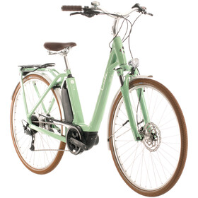 Cube Ella Ride Hybrid 500 Easy Entry, green/white